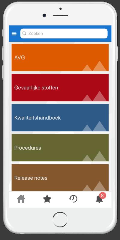 Zenya Search App - Documentenstructuur
