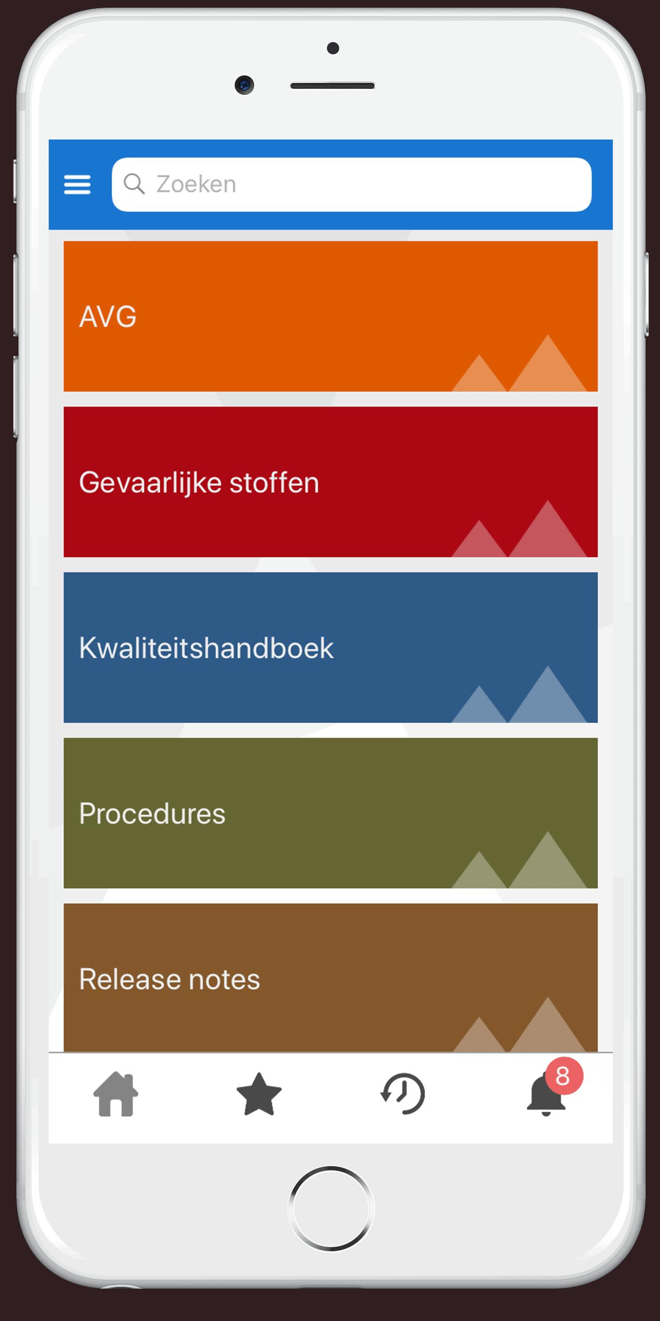 Zenya Search App Documentenstructuur