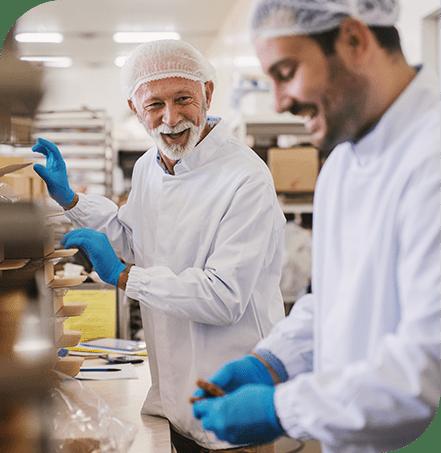kwaliteitsmanagement in de voedselindustrie gelukkige medewerkers