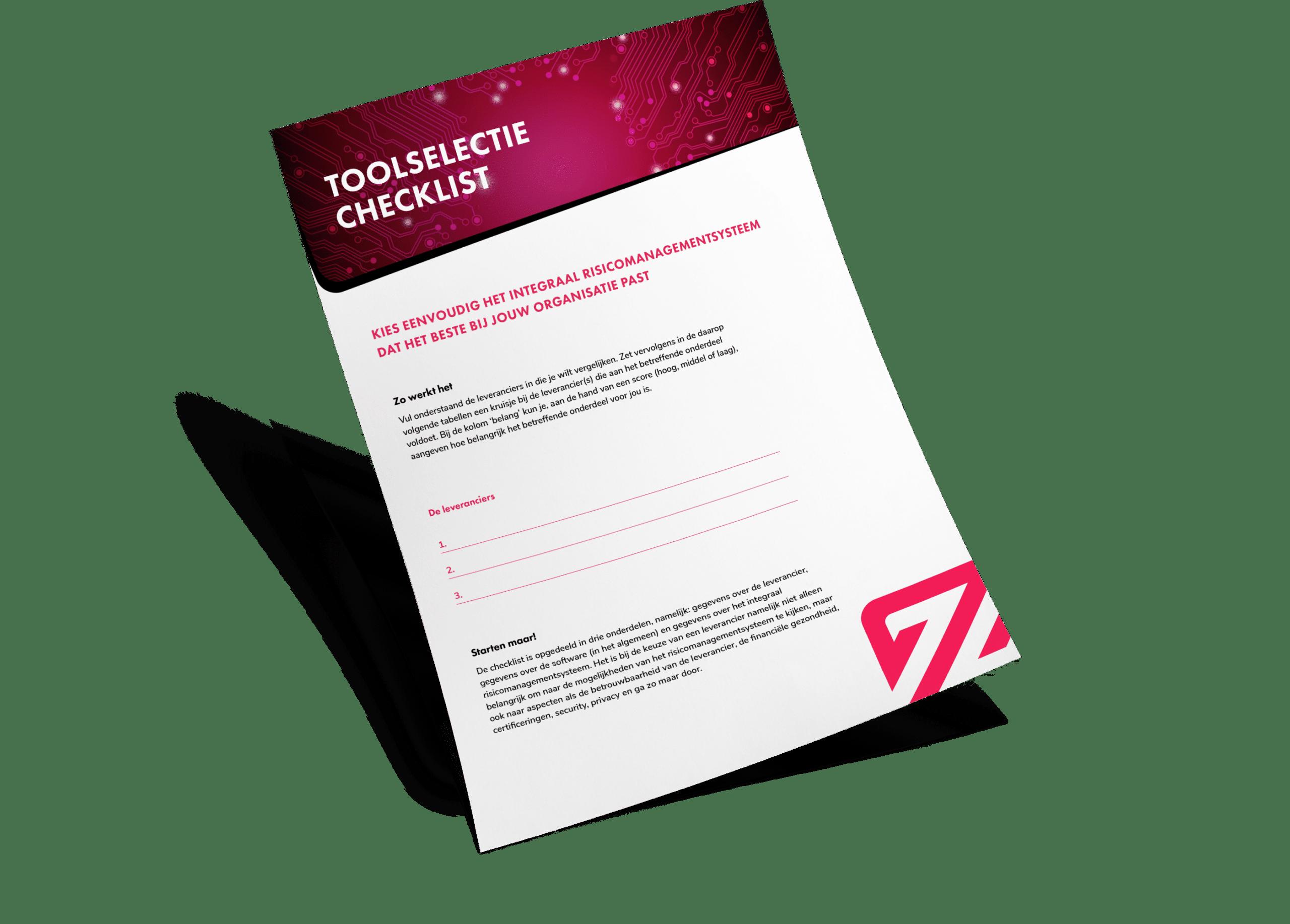Download voorbeeld Checklist Zenya RISK